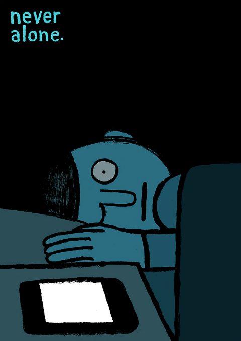 La loca tragicomedia de la vida moderna, en 25 viñetas