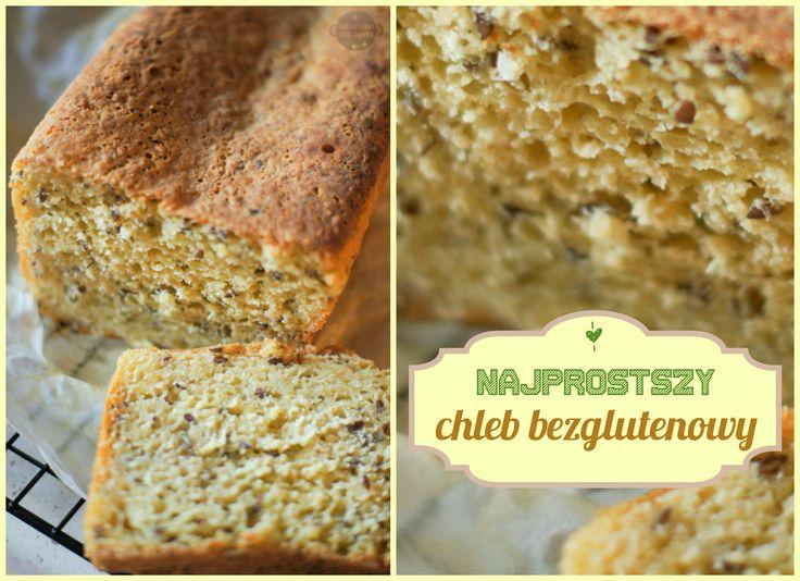"""Od dawna chciałam zrobić domowy chleb bezglutenowy, zależało mi by choć trochę przypominał ten """"normalny"""" z klasycznych mąk. Zainspirowałam się przepisem z bloga Dorotuśi wyszedł nap..."""