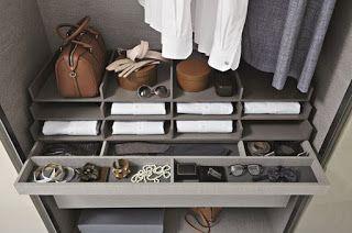 Ideias para Organizar um Closet