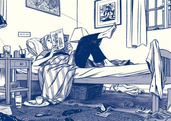 this one summer (opener). By Jillian Tamaki