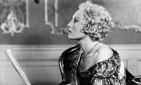 Elisabeth Bergner in the 1934 movie The Rise of Catherine The Great. I love her accent. Magnificent German actress.