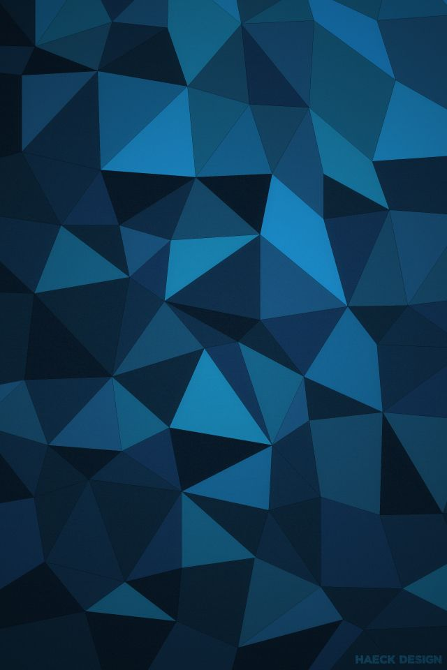 PolyWall is One Slick Low-Poly Wallpaper. Haeck Design made April's wallpaper with high definition textured vectors, a minimal look, and several color varieties. #lowpoly #wallpaper #wallpapers