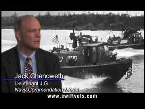 The Swiftboat Veterans created an ad in 2004 to show that they did not support John Kerry. Veterans try to change voter's minds by sharing stories of Kerry's dishonesty. They tell people that he is not the war hero he says that he is and that he dishonored his country. By saying these things, the veterans hope that people will not vote for Kerry. No one wants to vote for someone that they don't think they can trust, so the veterans hope this will persuade voters to not vote for Kerry.