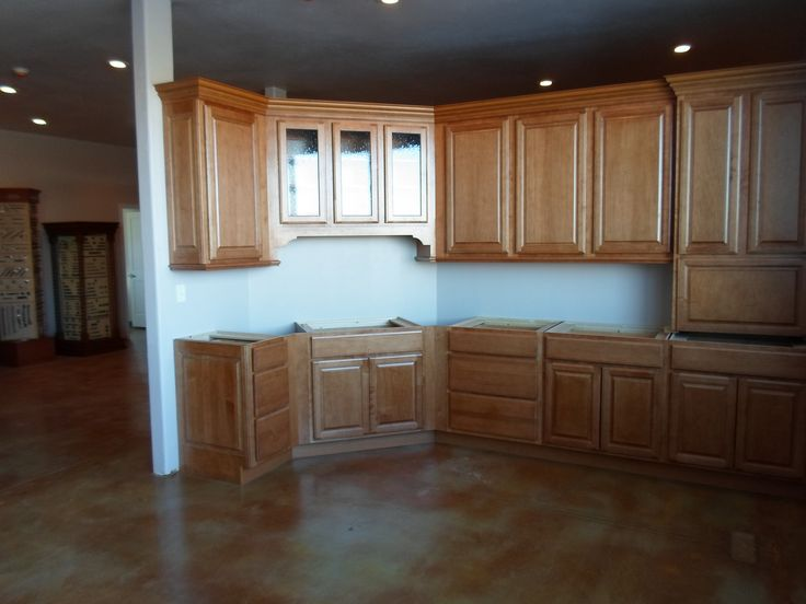 """Thomasville Kitchen Cabinets >> Kraft Maid Maple cabinets """"Belmont Square"""" door style and ..."""