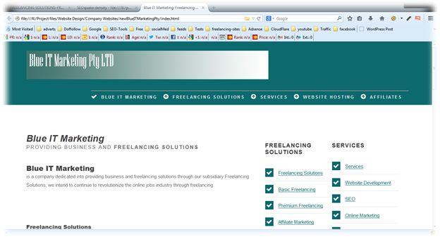 View Freelancing Solutions Website Development Freelance Profile