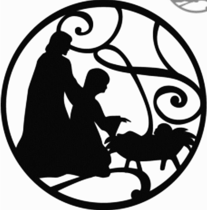 The 25+ best Nativity silhouette ideas on Pinterest | How was ...