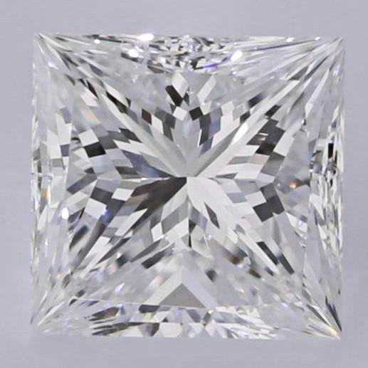 0.90 Carat E-SI1 Princess Cut Diamond