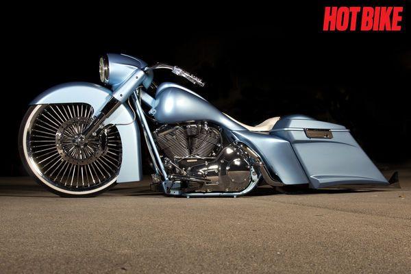 cholo road king cali style beach bar | Chino Cholo - A Custom 2005 Harley-Davidson Road King | Hot Bike