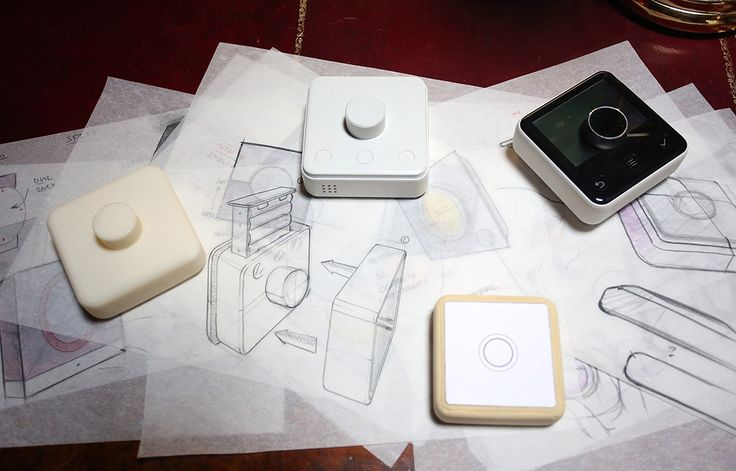Discover the #Hive Connected -- Showing #sketches of the thermostat, the simplistic yet #bold #design by Yves Behar #inspired us all. -- #drawings #creative #hivehome #designer #technology