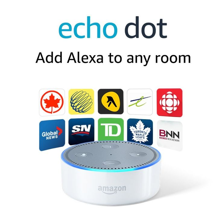 Echo Dot - inexpensive virtual assistant