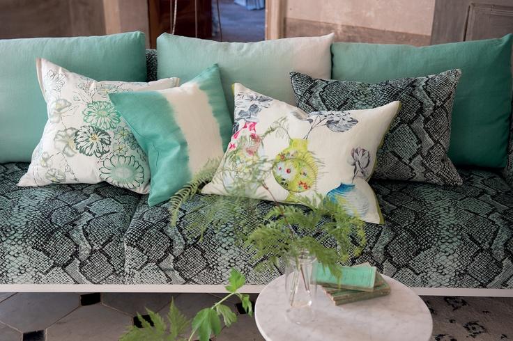 Pale Jade in Oriago, Savine and Ophelia Accessories