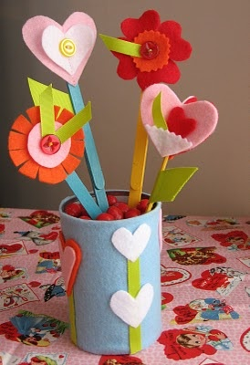 Valentine's Day or Mother's Day craft.... Crafts for Exceptional # Special Needs....
