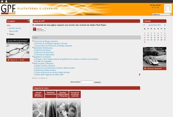 http://www.e-learning.cat - plataforma e-learning en moodle