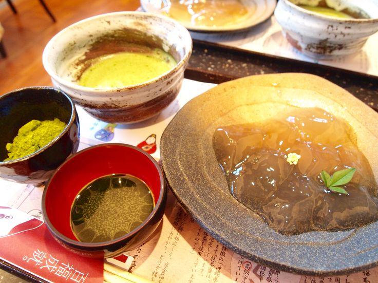 京都  ❁普門庵のわらび餅はモチモチで本当に美味しい‼︎