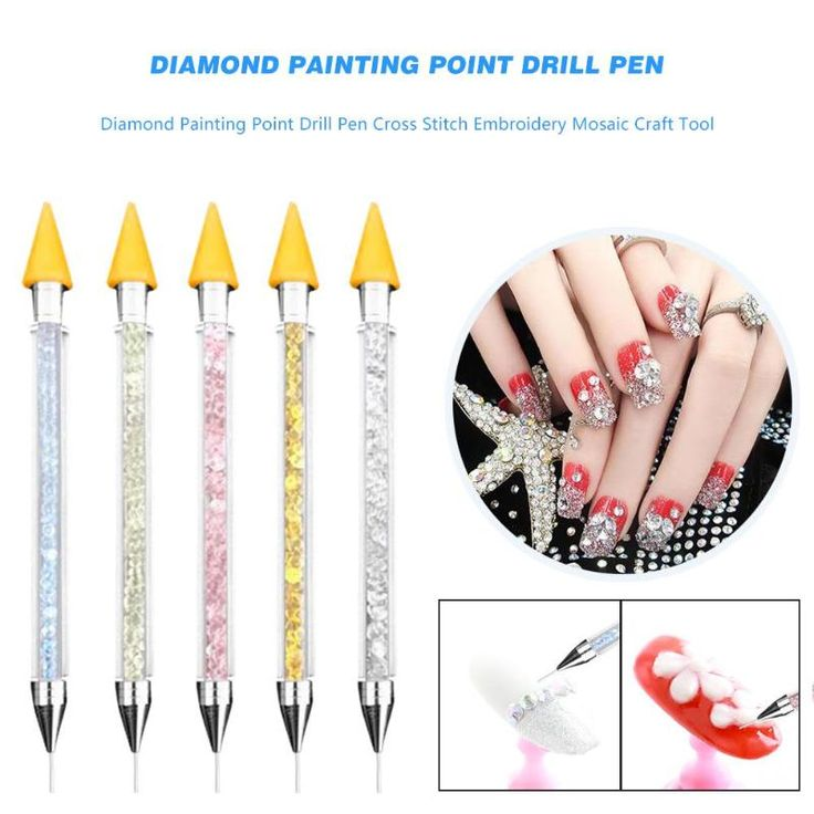 Diy diamond painting point drill pen stainless steel tube