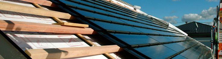 Solar Roof Panes