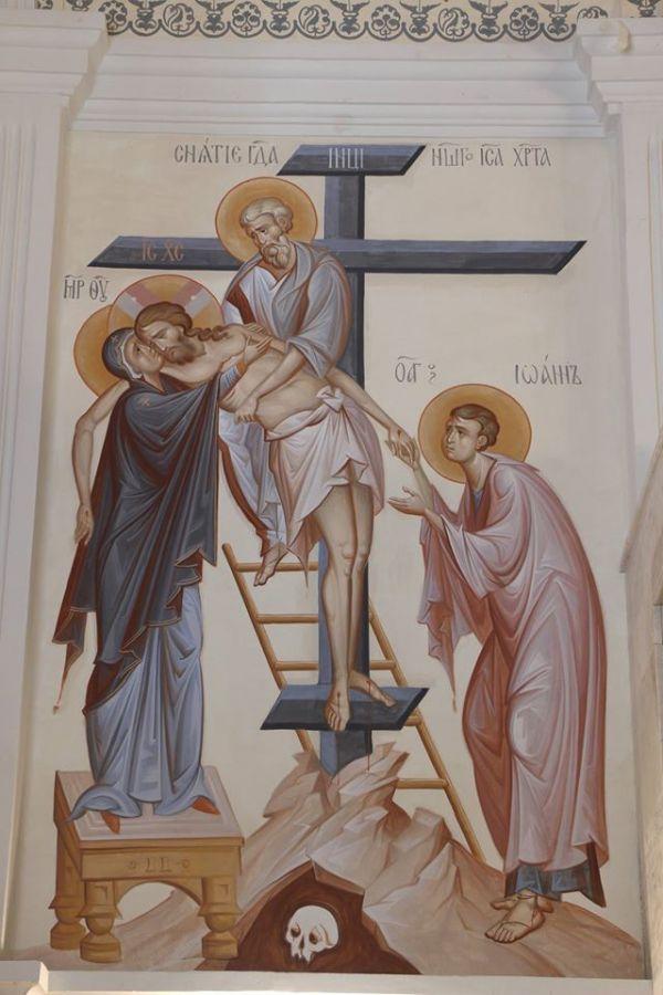 Снятие со Креста храм Вознесения в Севастополе