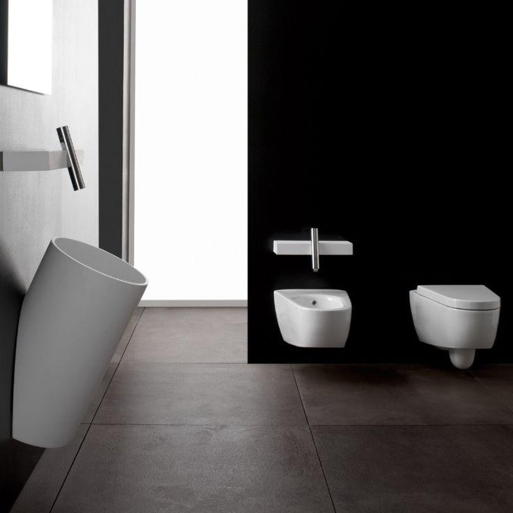 Treemme   wandhängendes WC   Serie Blok   mit Soft Close WC-Sitz