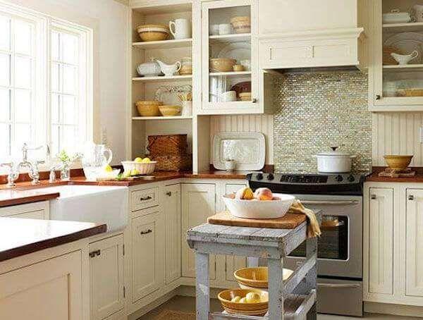 Kare Mutfak Nasil Dekore Edilir Rustik Mutfak Yeni Mutfak Modelleri Mutfak Yenileme