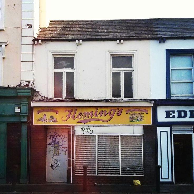 Fleming's #Dublin #DublinGhostSigns