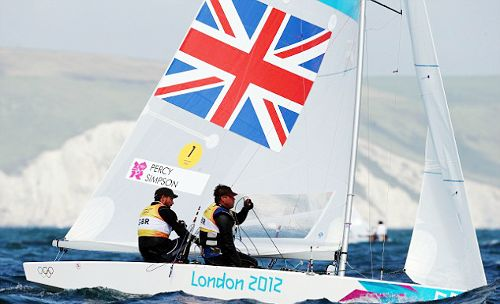 Team GB Medals 2012  42. Iain Percy and Andrew Simpson- SILVER  (Sailing: Men's Star)