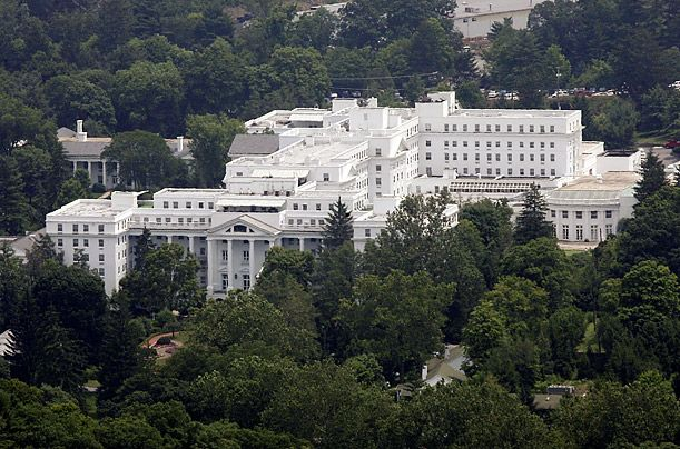 A Brief History of the Greenbrier Resort It's hosted celebrities, presidents and is home to a bunker where 1,000 government officials could survive a nuclear apocalypse. As West Virginia's Greenbrier Resort files for bankruptcy, a look back at its storied past