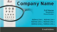 Eye clinic visiting cards design online, visiting cards design online, visiting cards for eye clinic at printasia.in
