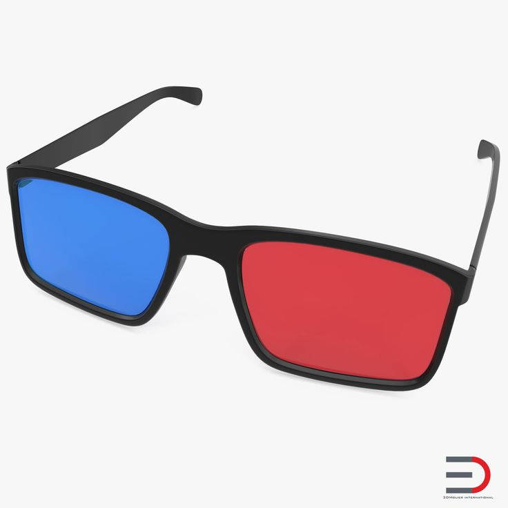 3D Glasses Anaglyph Passive Cyan and Magenta 3D