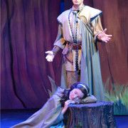 """Connor Baker plays the woodsman who couldn't quite carry out the evil intended by the queen in Valley Youth Theatre's """"Snow White and the Seven Dwarfs"""" April 4-20, 2014 - #examinercom"""