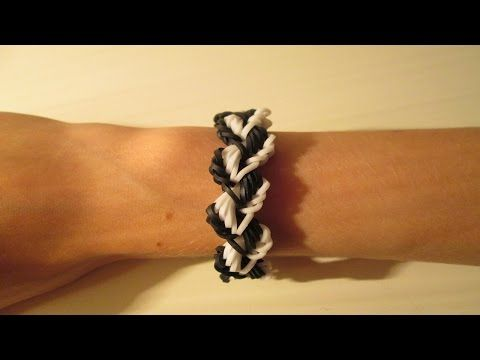 LAUREL LEAF Bracelet - hook only. Designed and loomed by Claire's Wears. Click photo for YouTube tutorial. 09/26/14.