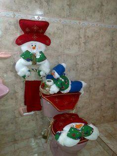 vestido navideño baño