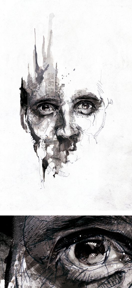 Textured Illustrations by Florian Nicolle aka Neo   Inspiration Grid   Design Inspiration