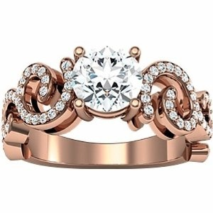 Rose gold: Diamond Engagement Rings, Gold Ringsringsr, Gold Rings Rings R, Gold Diamonds, Beautiful Engagement, Dreams Engagement Rings, Gold It Beautiful, Diamonds Engagement Rings, Rose Gold