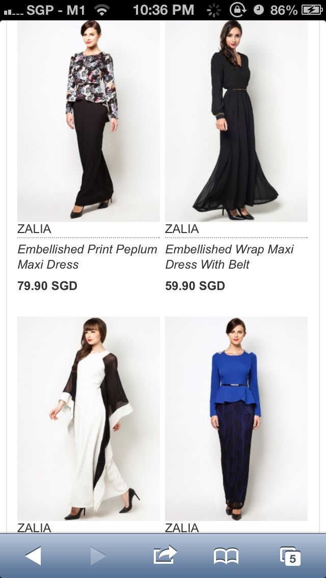 Interesting designs on zalora