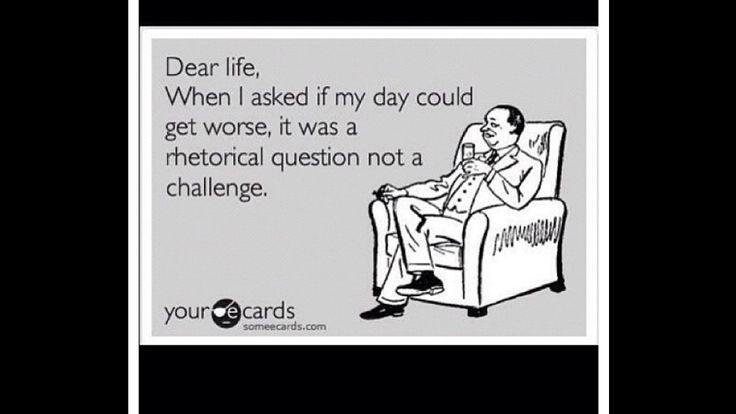 Story of my life haha!