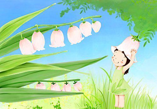 Tête de lit panoramique / Papier peint textile sans raccord « mon muguet rose» 250(L) X180(H) cm, spéciale chambre d'enfant Atelier WYBO http://www.amazon.fr/dp/B00NA5X45A/ref=cm_sw_r_pi_dp_idiiub03NX94Y