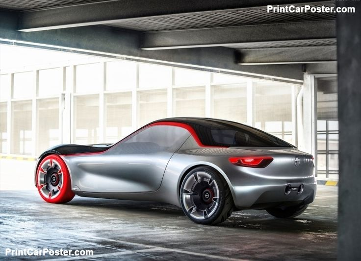 Opel GT Concept 2016 poster, #poster, #mousepad, #tshirt
