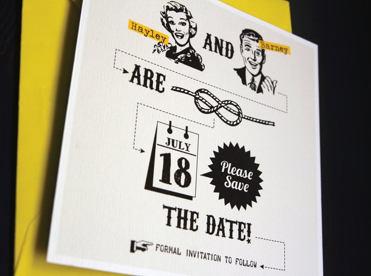 Best Stationary Save The Date Images On