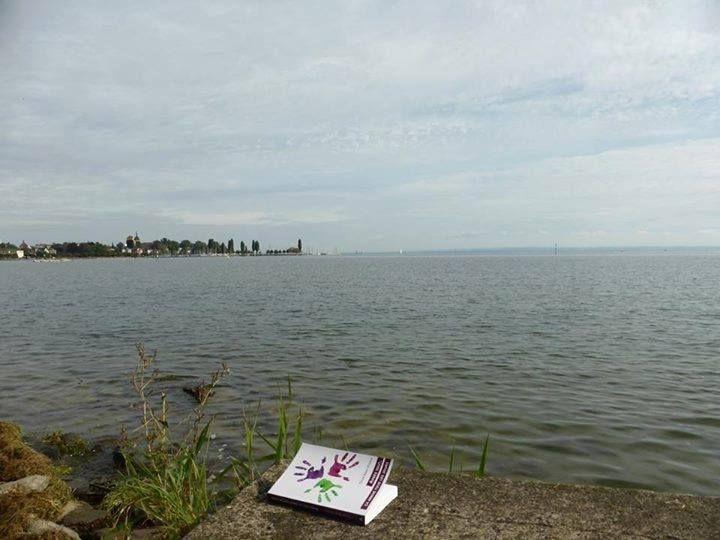 Sur les rives du lac de Constance en Autriche, avec Marcelline