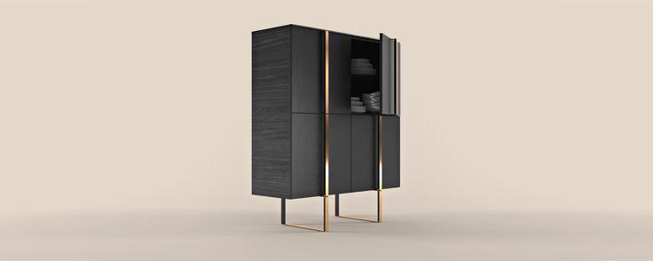 Шкаф для посуды GRID - Буфеты и шкафы - Мебель