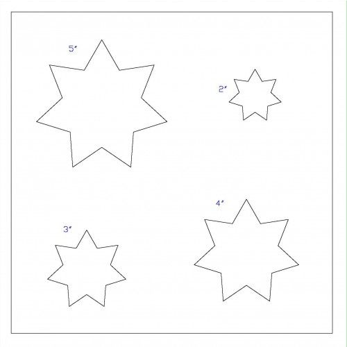 Best Nine Pointed Star Patterns Images On   Star