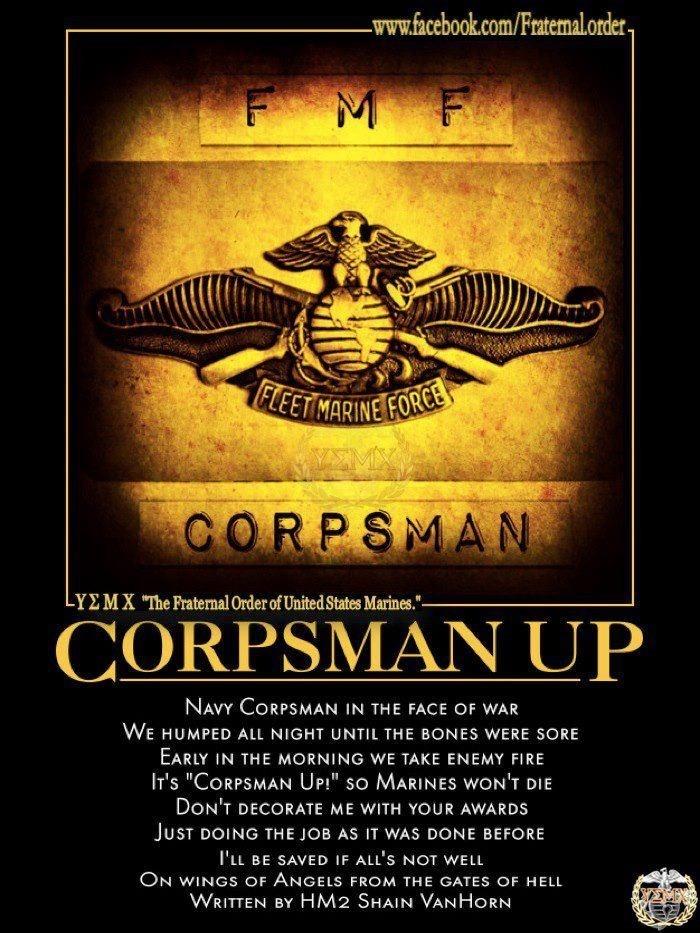 CORPSMAN UP!!!