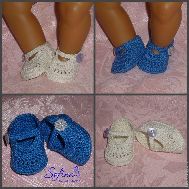 Купить Мастер - класс по вязанию туфелек для кукол №3 в интернет магазине на Ярмарке Мастеров