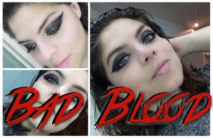 Maquillaje inpierado en el video de Bad Blood de Taylor Swift :)) https://www.youtube.com/watch?v=c9hB3EuWJag  #maquillaje #makeup #belleza #beauty #tutorial #vlogger #blogger #TaylorSwift #TSwift #BadBlood #swifty #1989