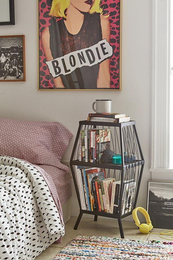 Boho Minimal Rental Santa Barbara Cubby Storage Home Bedroom Decor