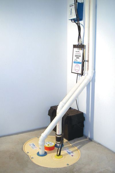 Awesome Sani Dry Basement Air System