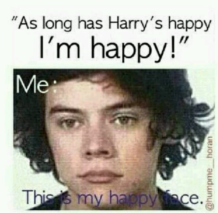 Hahaha. This is my happy face. | One direction | Pinterest