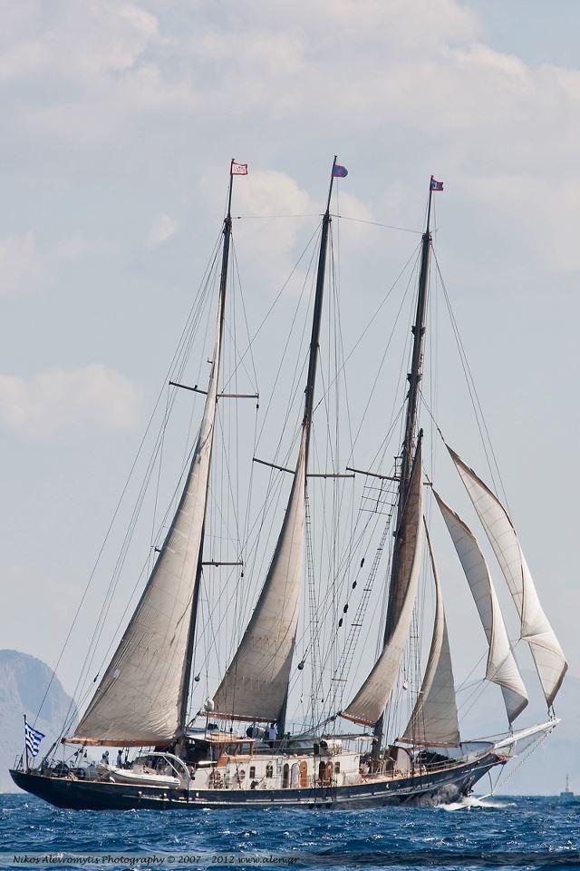 Spetses Classic Yacht Race 2011  AleN Photography