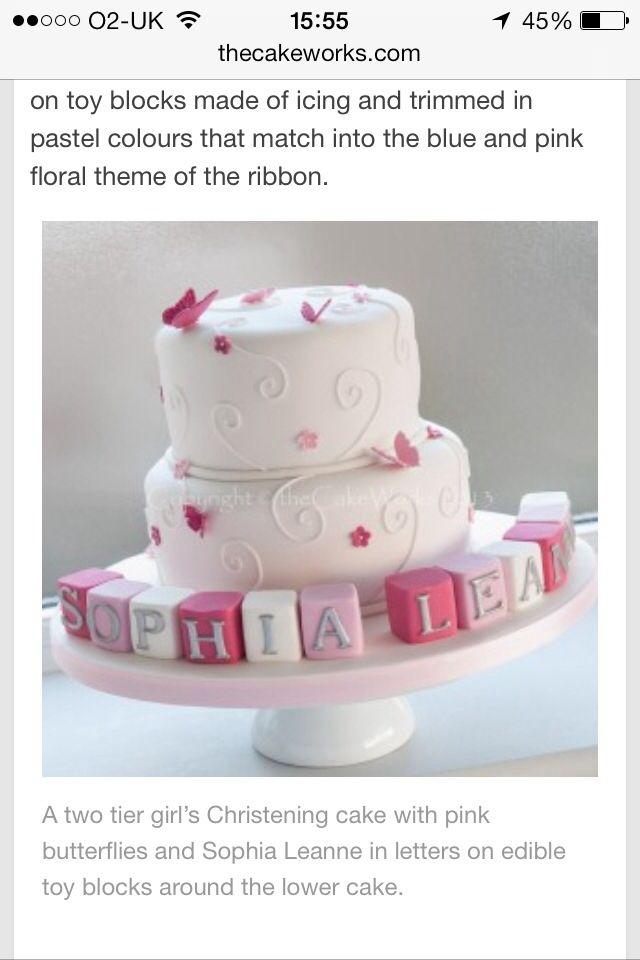 Best 20+ Christening Cake Girls ideas on Pinterest ...