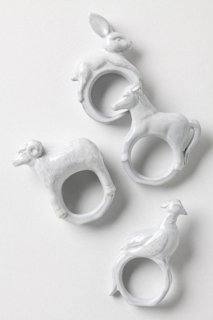Easter napkin rings